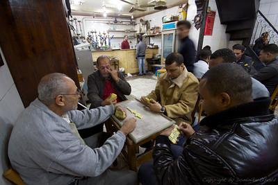 Aleksandrija, Egipt (2011) - Domine, čaj, vodna pipa. In mir pred ženo.