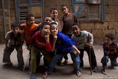 Kairo, Egipt (2011) - Kairski fakini. Zaenkrat še obvladljivi. Čez par let več ne.