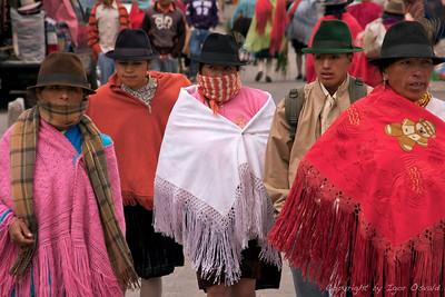 Zumbahua, Ekvador (2009) - Za tržni dan urejeni.