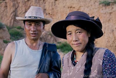 Ganzi, Kham, Tibet/Kitajska (2010) - Tibetanci imajo poseben fetiš do klobukov.
