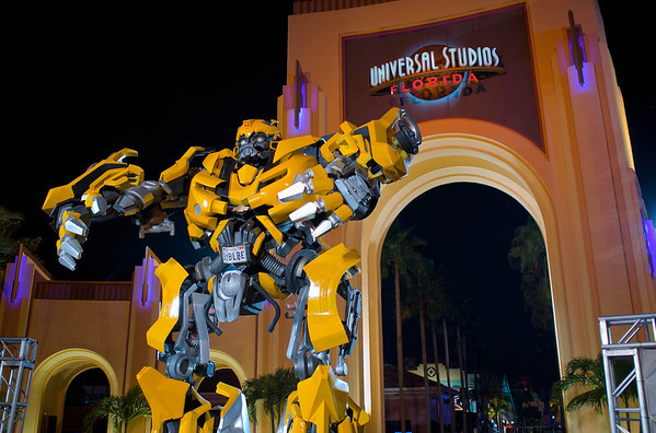 BUMBLBE at Universal Studios Florida // X2: From RAW to Color //