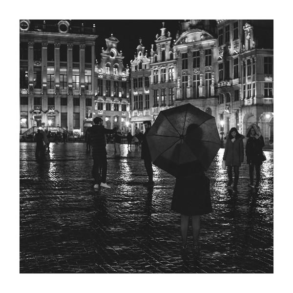 Bruselas B&W