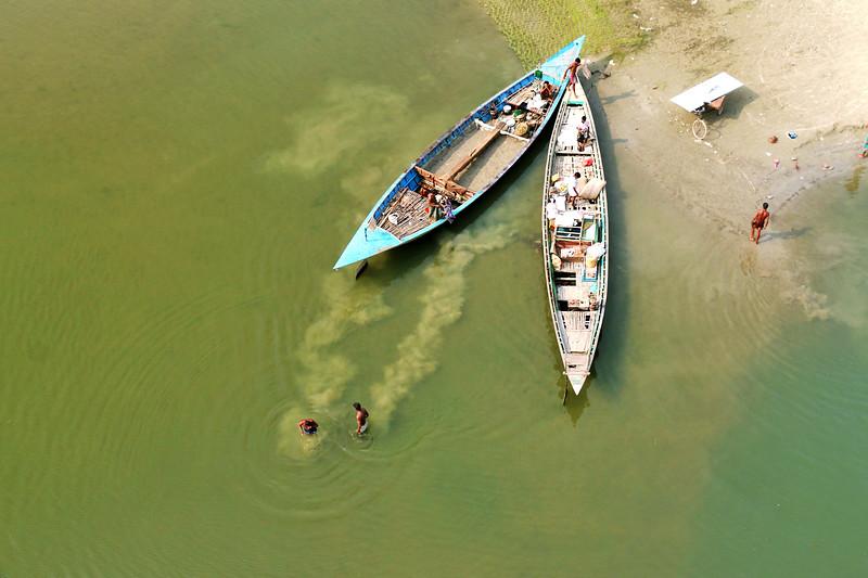 Kaliganga River , Manikganj, Dhaka, Bangladesh