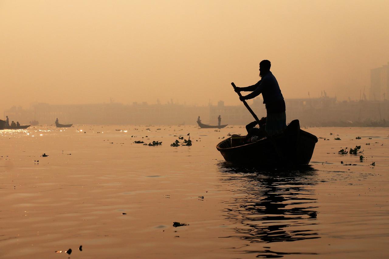 Buriganga River, Dhaka, Bangladesh