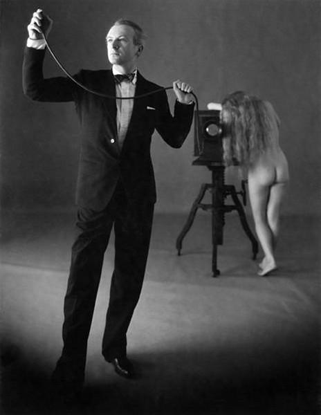 Cecil Beaton fotograferet af Penn