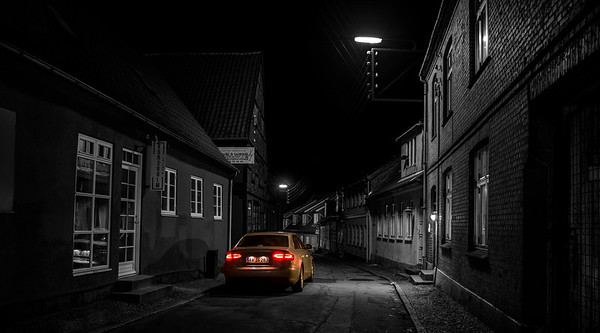 Holbæk by Night