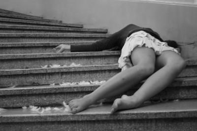 Portaikko / Stairway © Daniela Hanhike & Emilia Lång