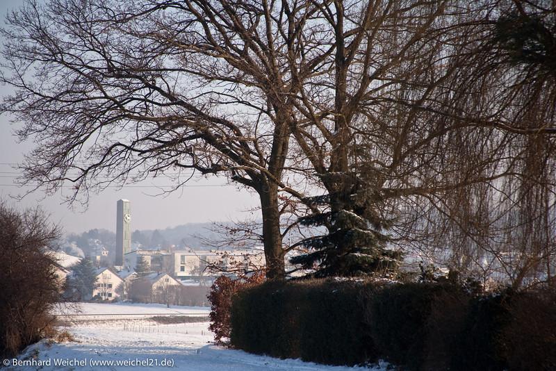 Winterliches Korntal