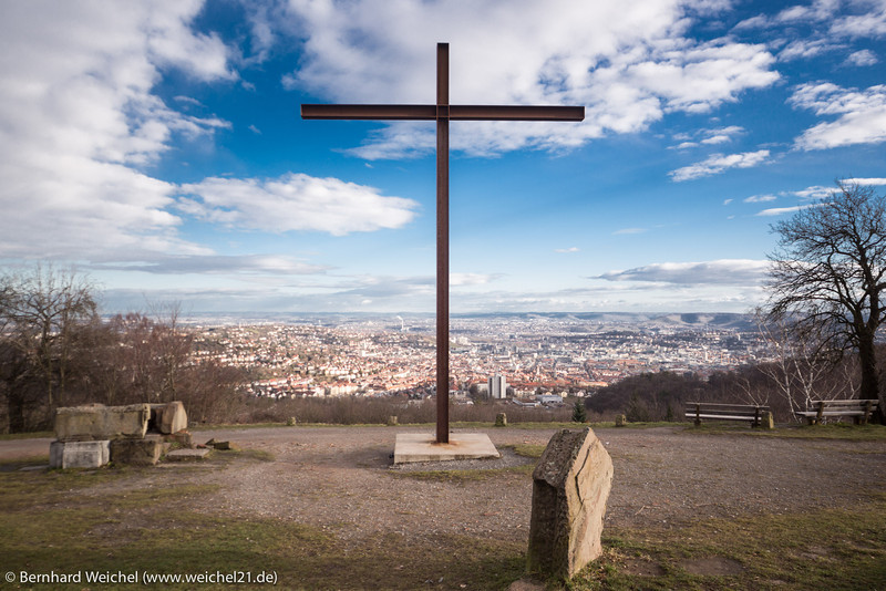 Die Mite ist das Kreuz