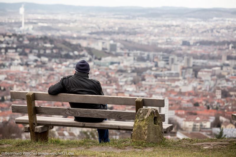Einsam in Stuttgart