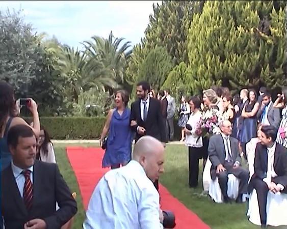 Parte 1 - Cerimónia e entrada na sala