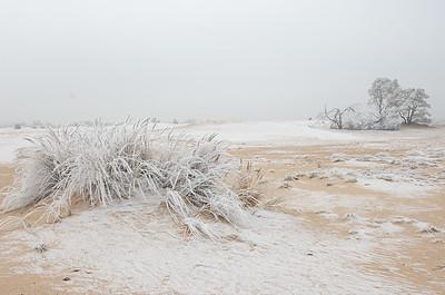 2007 12 21 Zandverstuiving hv winter rijp 064