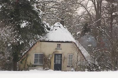2005 mrt 04 sneeuw huis gortel  002