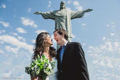 Claudia e Kevin - Cristo Redentor