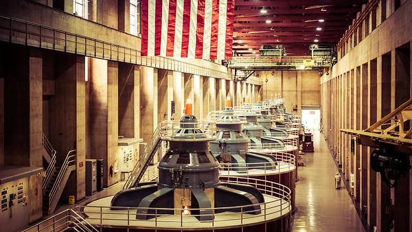 Hoover dam, NV. USA