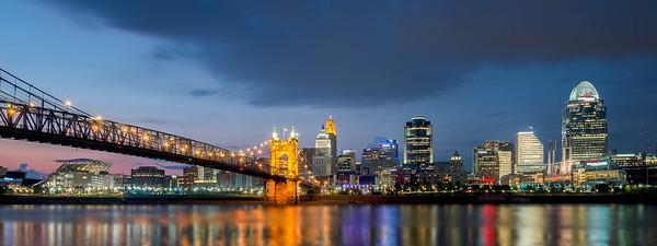 Skyline Cincinnati, Ohio