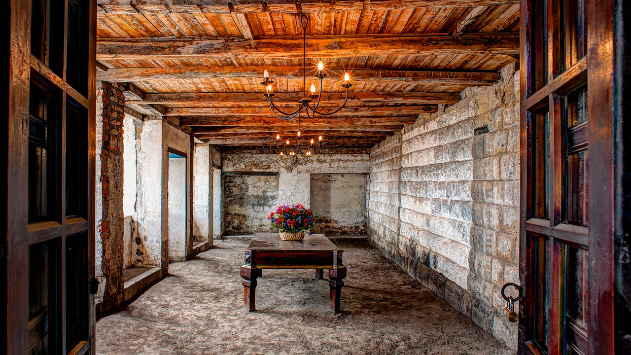 An old room in an old hacienda