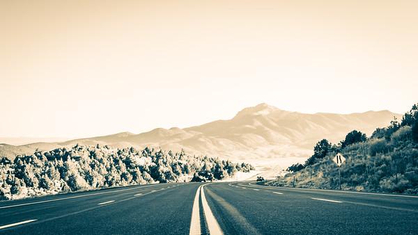 High way, UT. USA