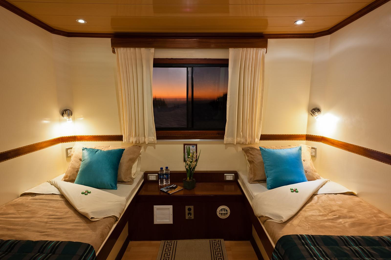 Galapagos Seaman Journey cruise ship, Ecuador