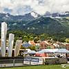 As Cores De Innsbruck Na Áustria