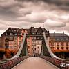 Ponte Avermelhada Em Frankfurt