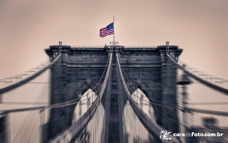 Brooklyn Bridge com Personalidade