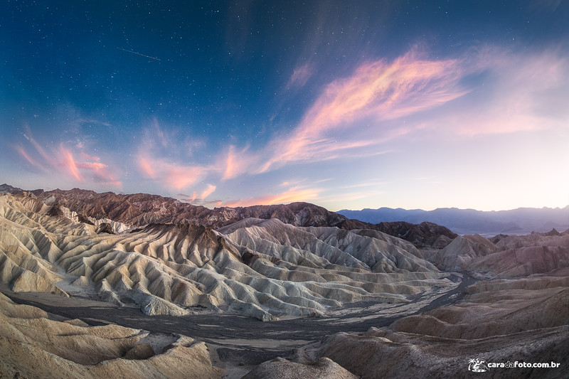 Anoitecer Mágico no Zabriskie Point
