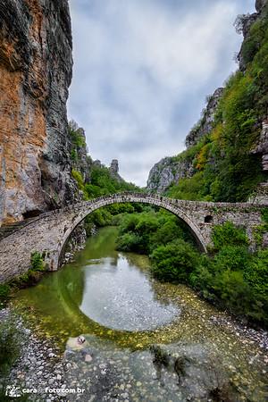 Ponte de Pedra Na Grécia