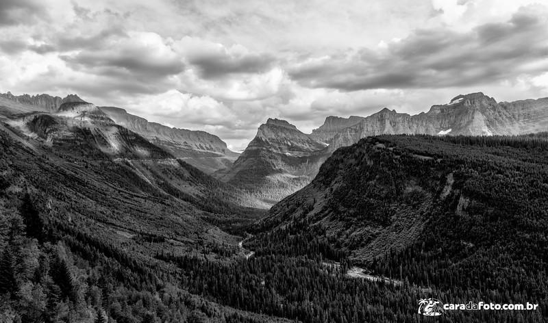 Topografia Milenar No Glacier National Park