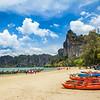 Praia Paradisíaca Na Tailândia