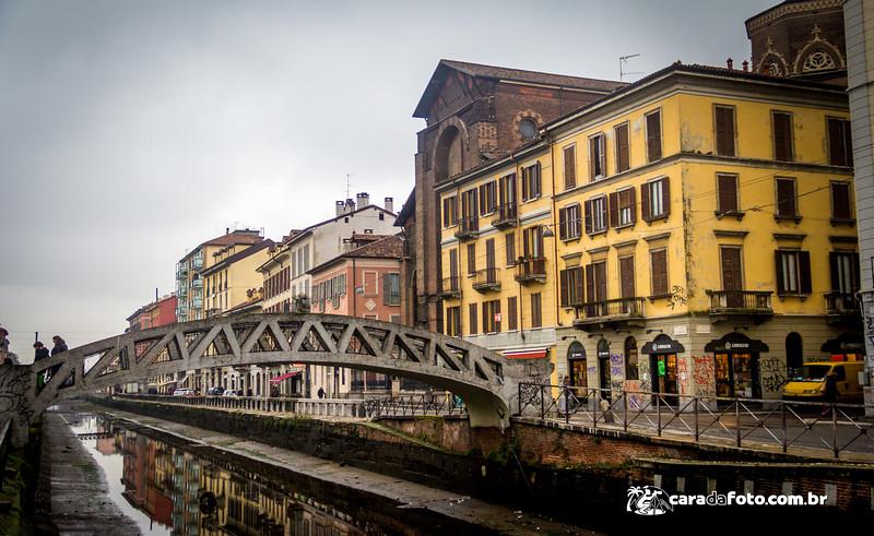 Canais De Milão