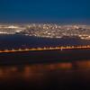 San Francisco à Noite e Com Muito Vento
