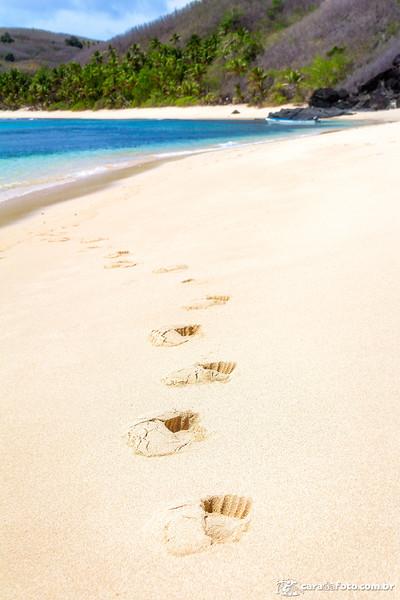 Pegadas no Paraíso