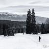 O Esquiador Solitário