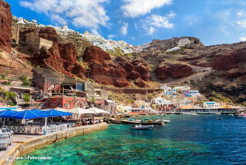 Santorini, Grécia – A Cidade Das Cores