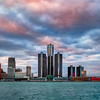 Detroit Vista Do Canadá