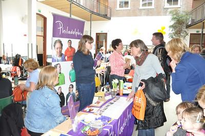 Foto's gemaakt op de Autismebeurs op 14 april 2012 te Haarlem