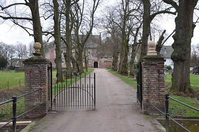 Toegang naar kasteel Hernen
