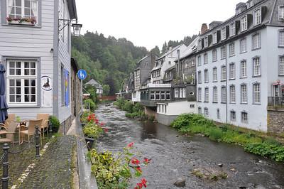 Monschau 25 juni 2012, het regent...