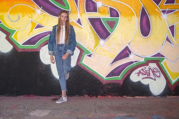 Groeps graffittyshoot IJburg (1 juli 2018)