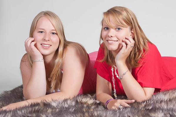 Elize en Saskia (4 juli 2011)