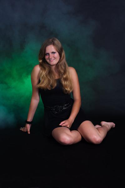 Lisanne opnieuw in de studio (9 juli 2013)