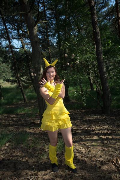 Pikachu shoot met Zoë (18 juli 2013)