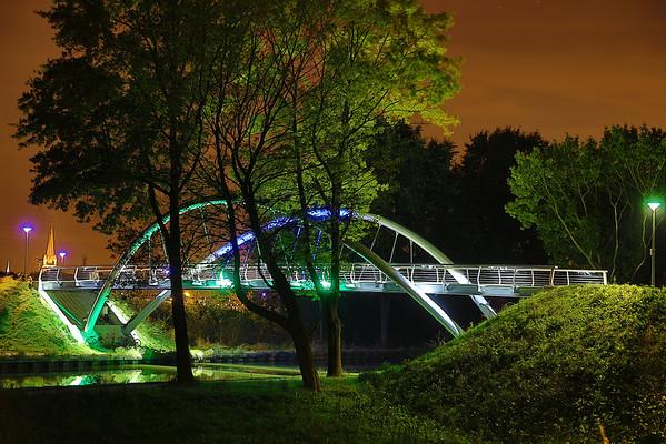 Nachtfoto's langs de vaart in Turnhout