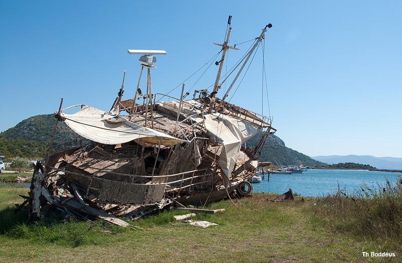 Fotograaf: theo boddeus, aan de kroatische kust .Heeft lang op de zeebodem gelegen