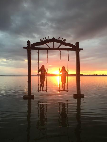 Fotograaf: Van der vijver, Sunset op het mooiste moment