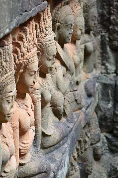 Fotograaf: Michelle, Glorieuze ouwe meuk. Onvoorstelbaar mooi. Angkor Wat, Cambodja