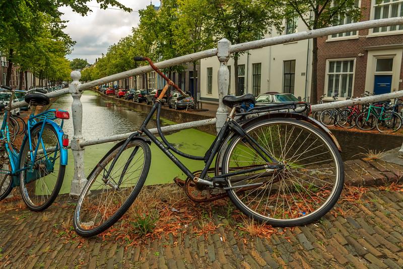 Fotograaf: sylvia, deze fiets kwam ik tegen in de stad Delft