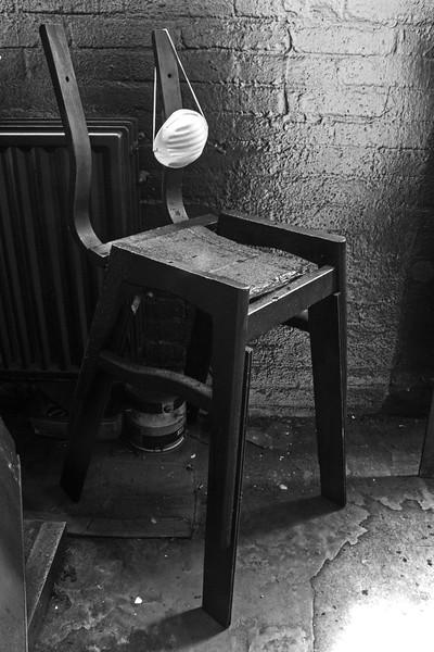 Fotograaf: Sjordy Kuijsters, Bloed, zweet en verhalen, de werkstoel van mijn vader...