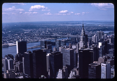 Chrysler Building and Long Island 1970s
